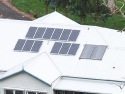 2.2 kW Solar PV and Solar HW Installation
